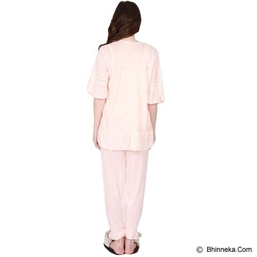 YOU'VE Aleana Lace Sleepwear [3233] - Cream - Baju Tidur Wanita Setelan